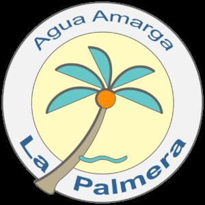 Logotipo La Palmera, Hostal Agua Amarga