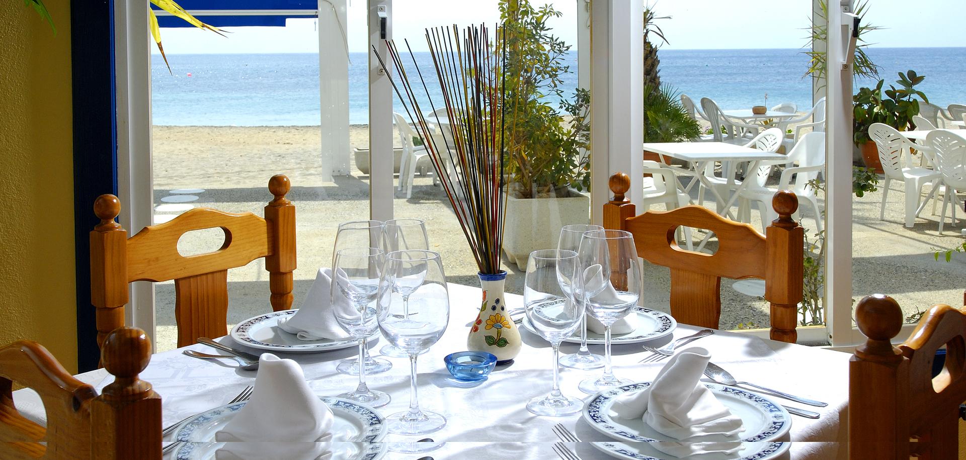 Restaurante La Palmera, Agua Amarga