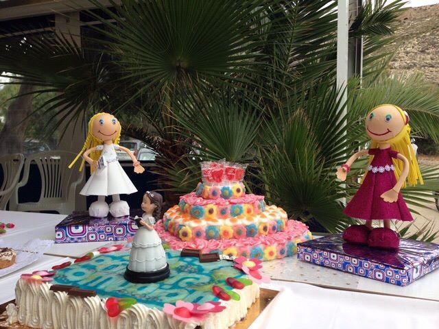Tartas y muñecas